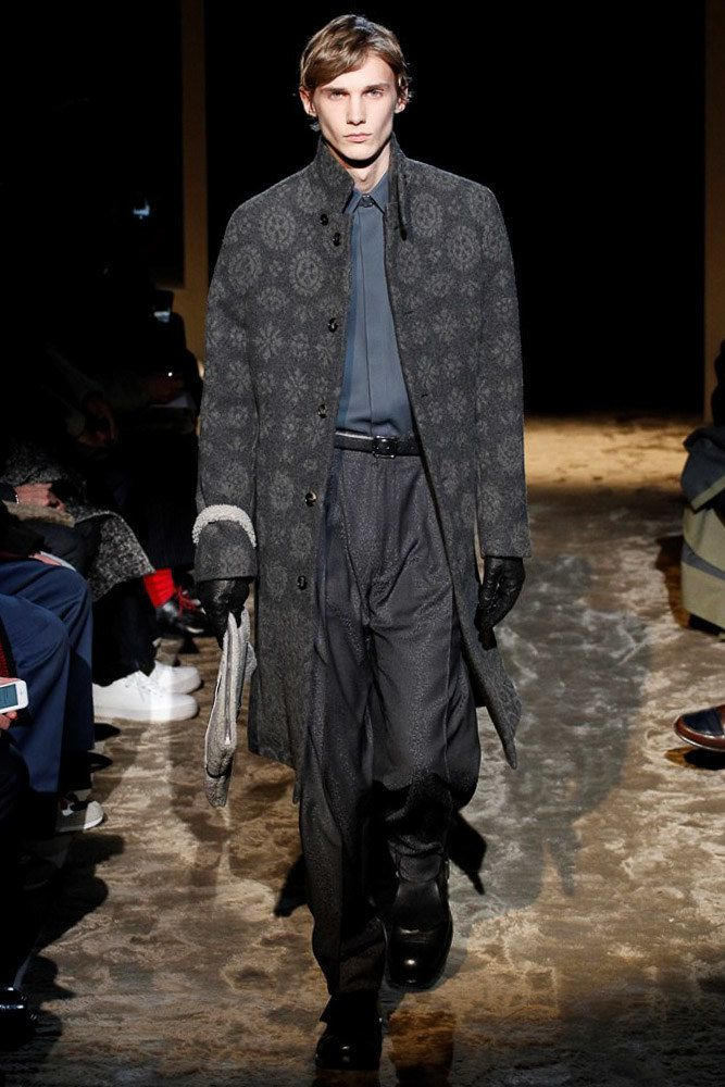 ERMENEGILDO ZEGNA  FALL/WINTER 2016