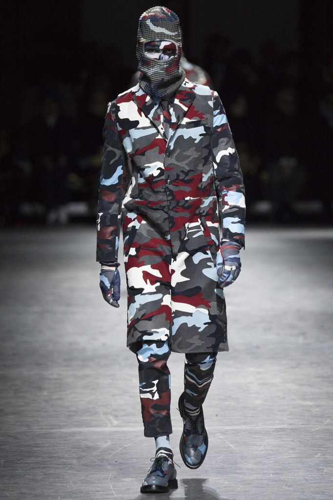 Moncler Gamme Bleu Fall/Winter 2016 Menswear.