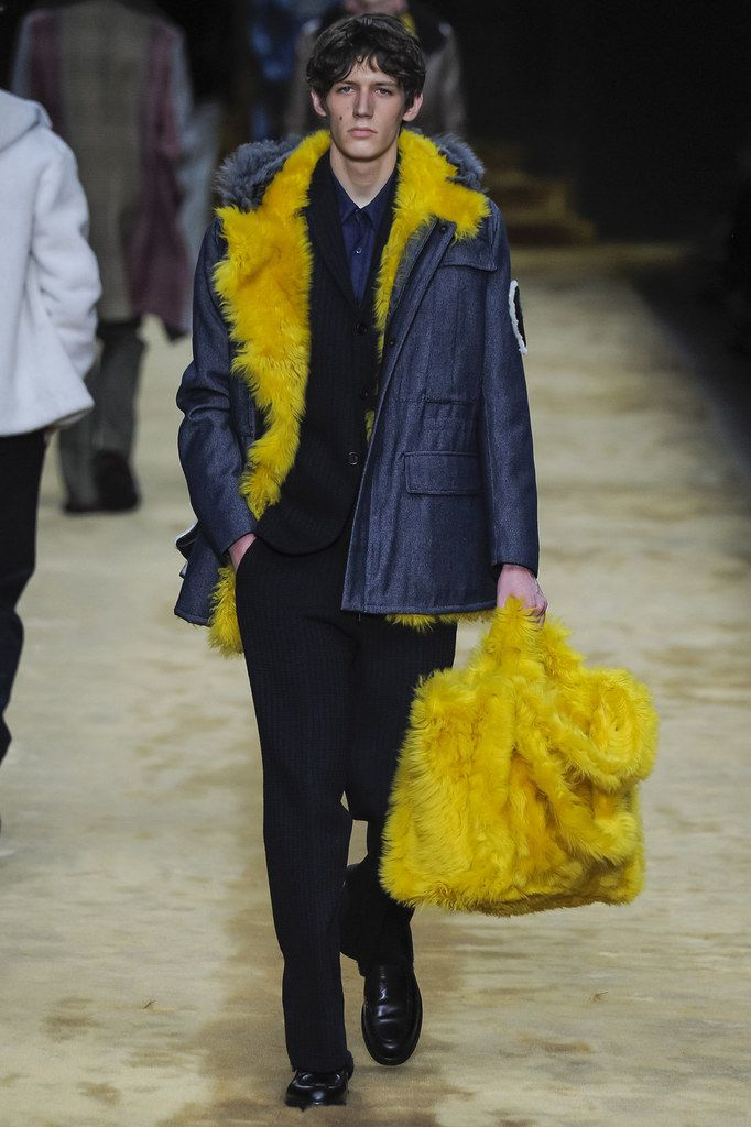 Fendi Fall 16 Menswear