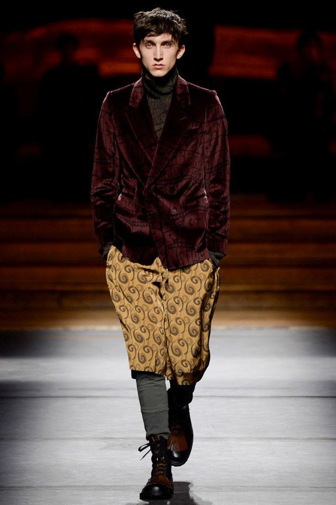 DRIES VAN NOTEN / FALL 2016 MENSWEAR