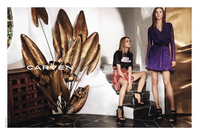 CARVEN / SPRING SUMMER 2016 CAMPAIGN