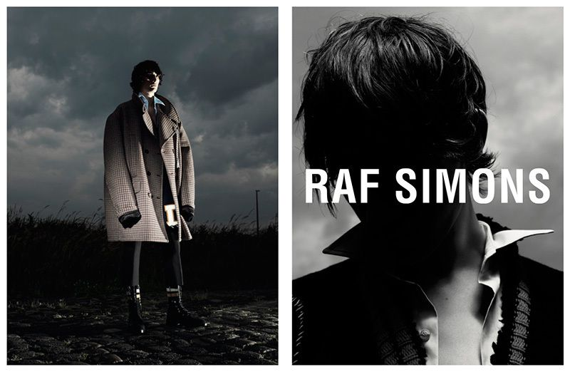 RAF SIMONS FALL/WINTER 2016 CAMPAIGN