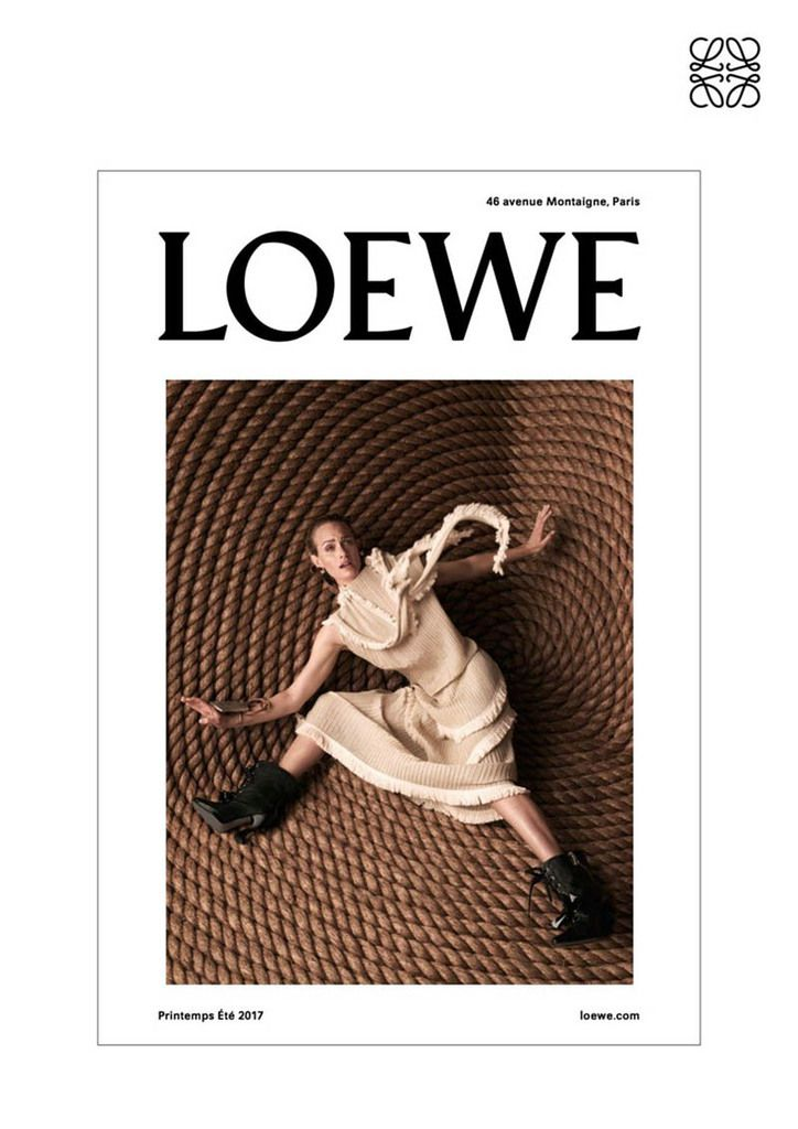 loewe spring summer 2017 ad campaign arc street. Black Bedroom Furniture Sets. Home Design Ideas