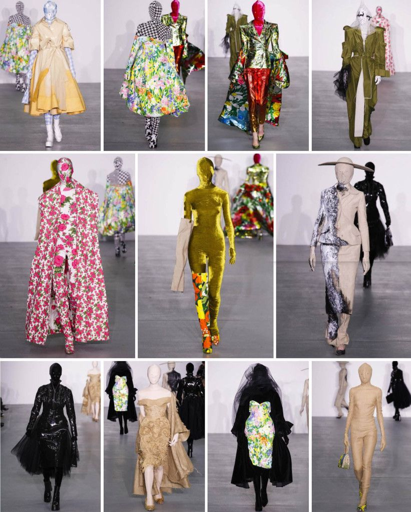 Richard Quinn fall/winter 2016 at Central Saint Martins