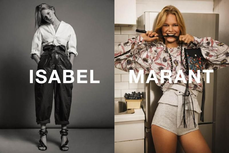 ISABEL MARANT SPRING/SUMMER 2017 AD CAMPAIGN
