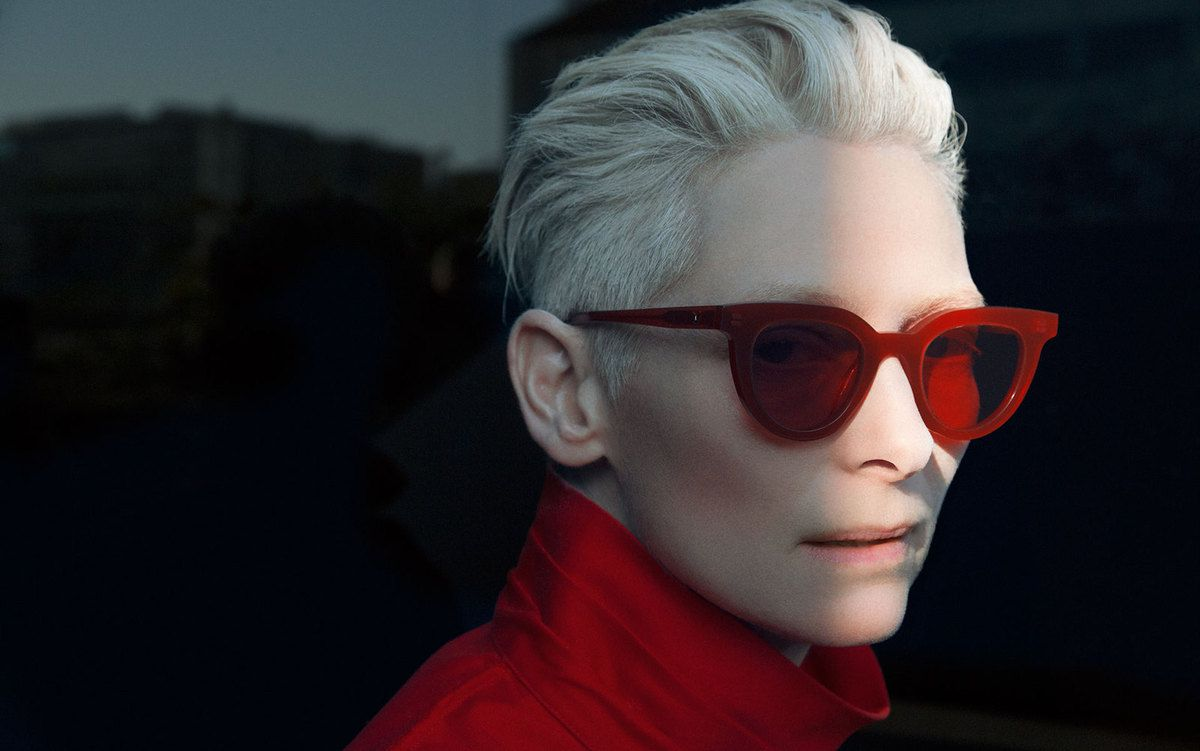 TILDA SWINTON x GENTLE MONSTER COLLABORATION