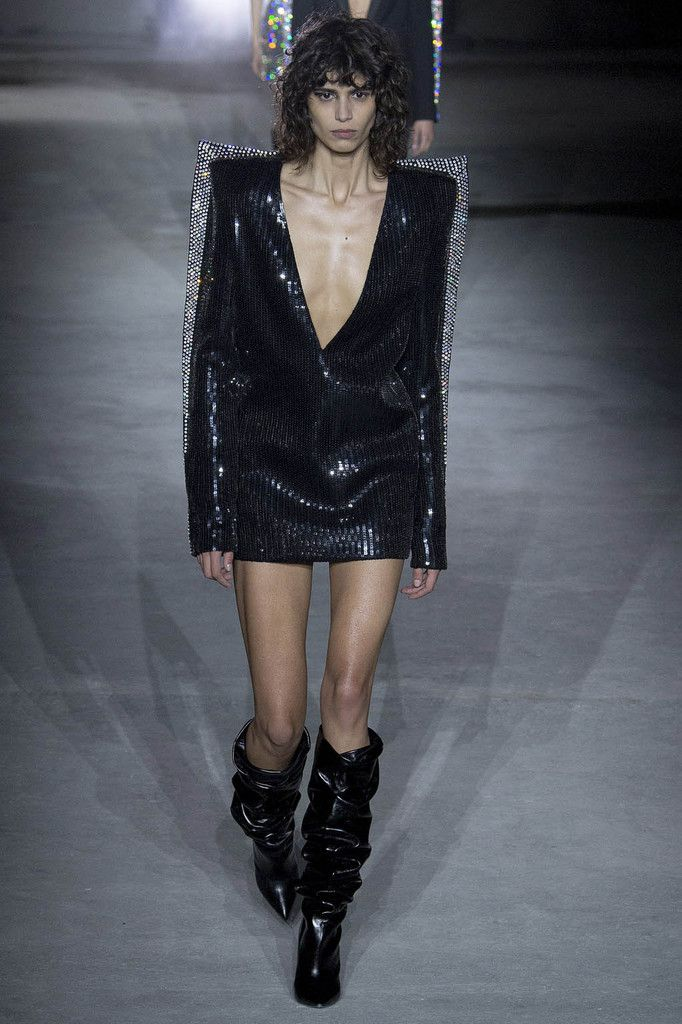 SAINT LAURENT FALL/WINTER 2017 PFW