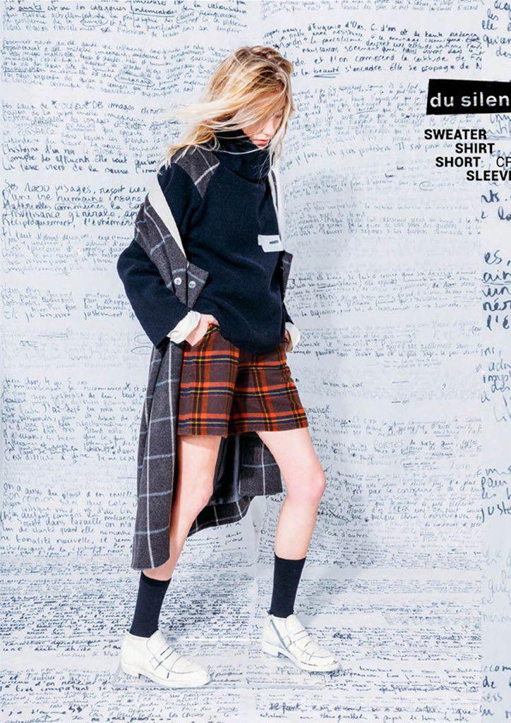 (c) Demeure / Photos Servan Ilyne / Model, Lulu / Styling, Olivier Schmitt.