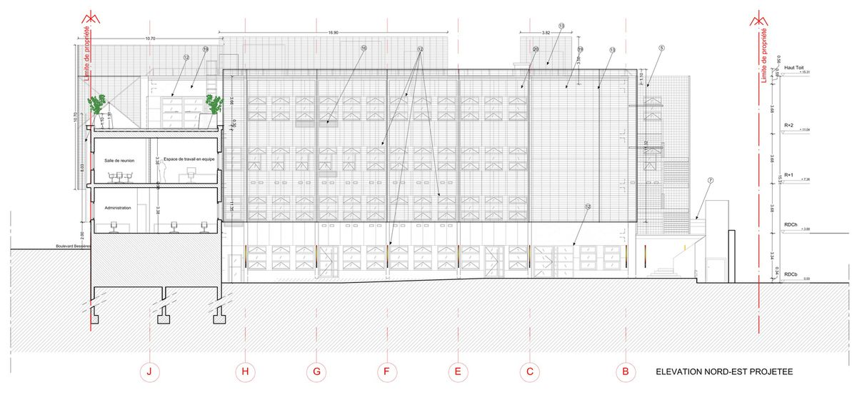 Architecture / Technical Drawings (c) IN&EDIT Architecture studio.