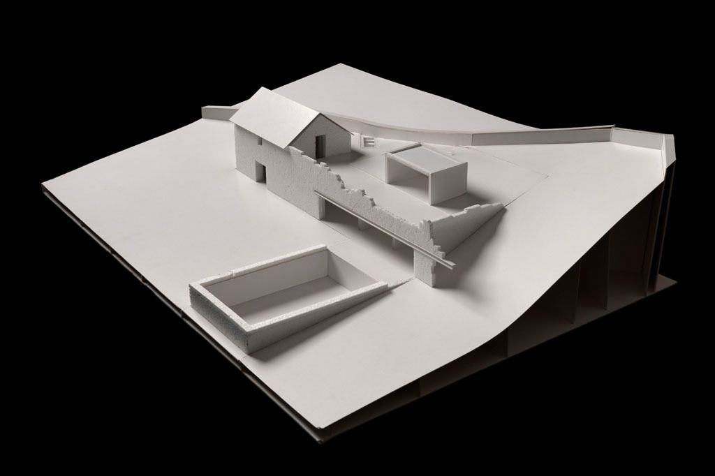 The old house / The project & construction Phase / Model (c) Nuno Brandao Costa Architect