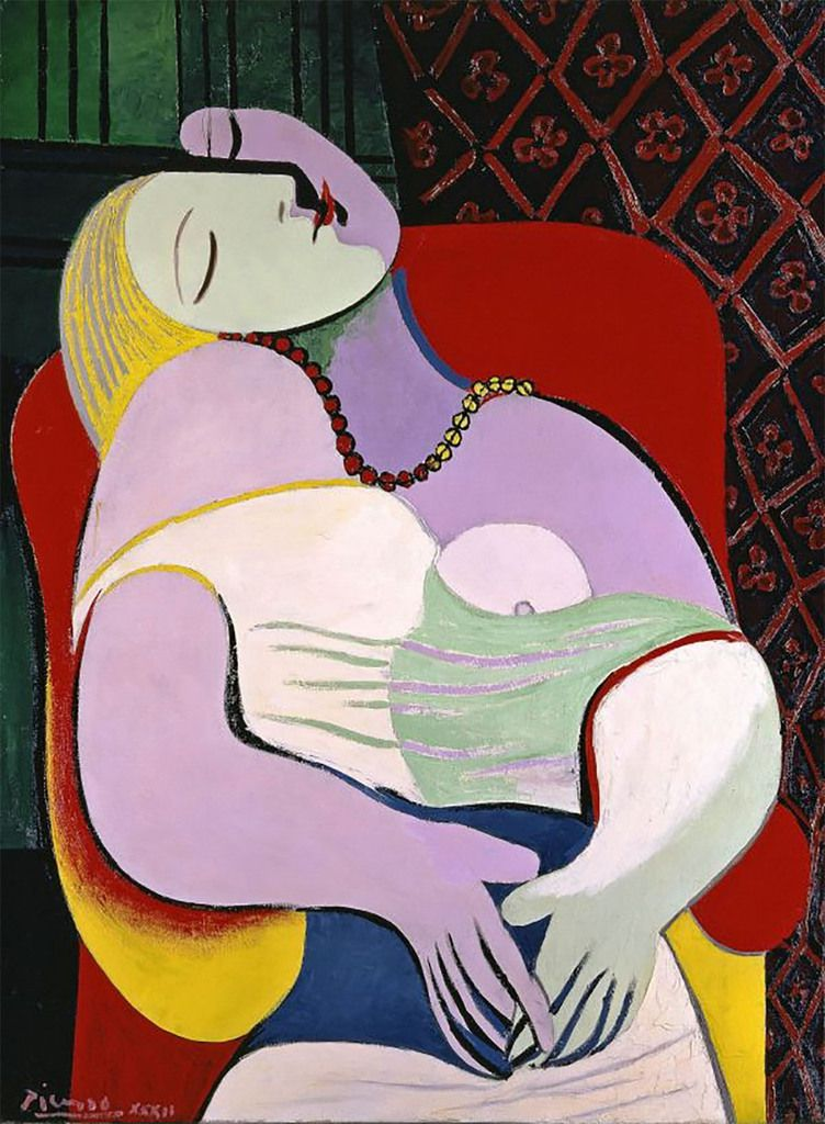 Pablo Picasso The Dream (Le Rêve) 1932 Private Collection © Succession Picasso/DACS, London 2017