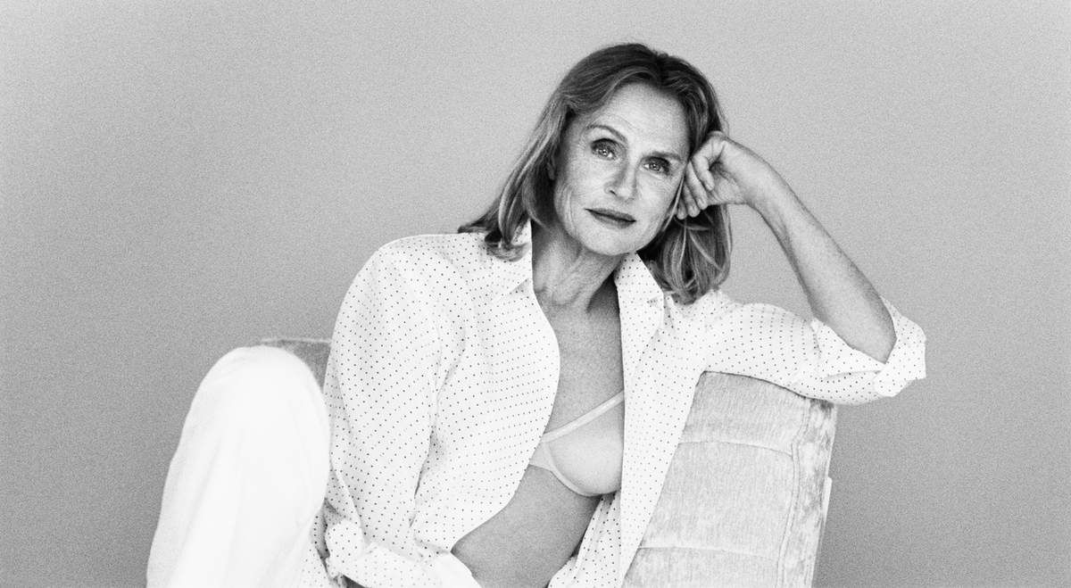 Lauren Hutton for Calvin Klein underwear spring 2017 campaign