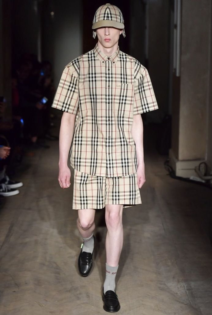 GOSHA RUBCHINSKIY'S COLLABORATION WITH BURBERRY FOR HIS SS18 COLLECTION