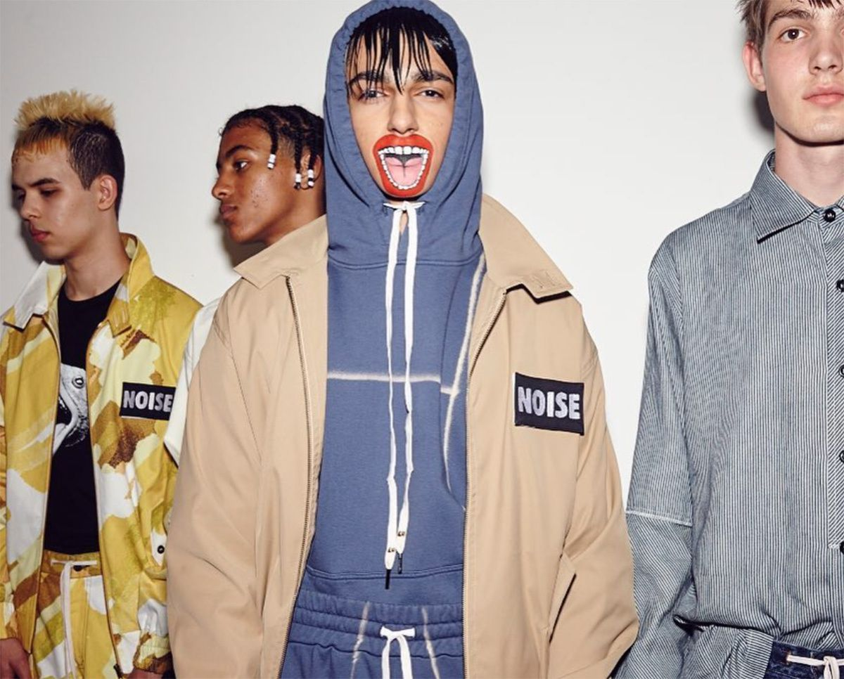 backstage style at liam_hodges spring/summer 2018  #LFWM #5th