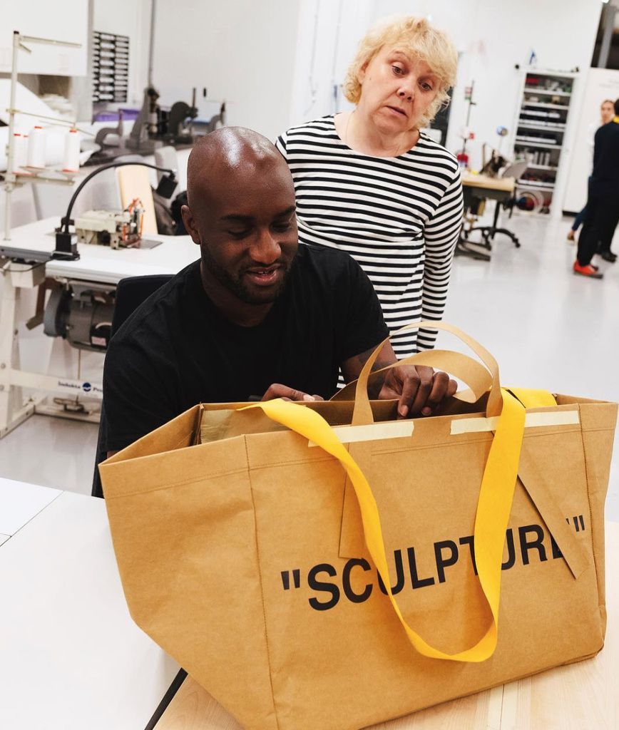 Virgil Abloh _Off White brand, collaborating with Ikea. Photo @piotrniepsuj