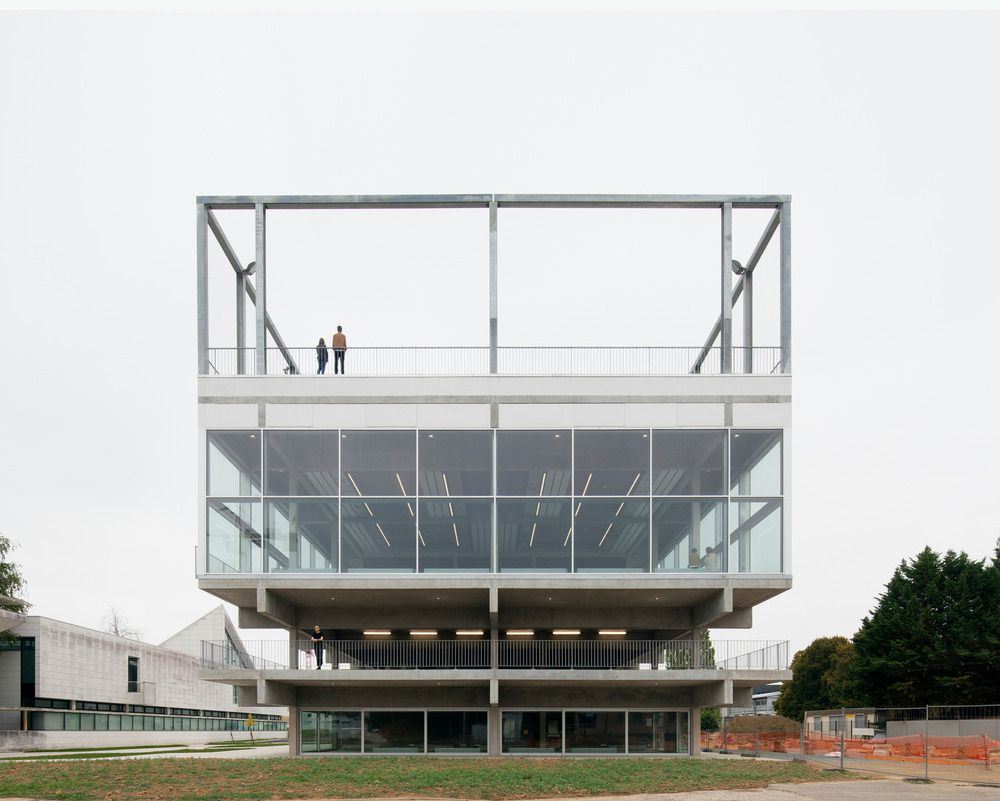PUBLIC CONDENSER AT PARIS SACLAY UNIVERSITY CAMPUS by  MUOTO ARCHITECTURE