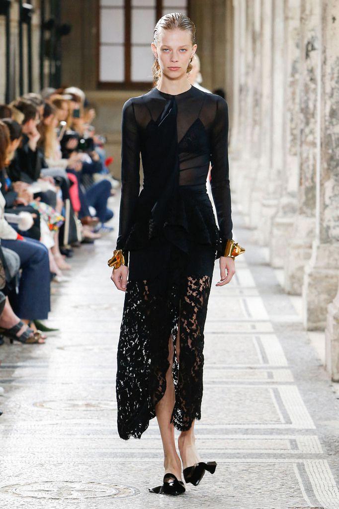 Proenza Schouler fw17-18 at Paris Haute Couture Fashion Week