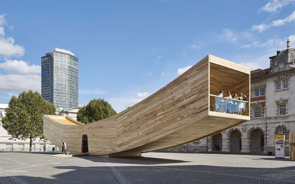 Small project prize - Alison Brooks Architects - The Smile