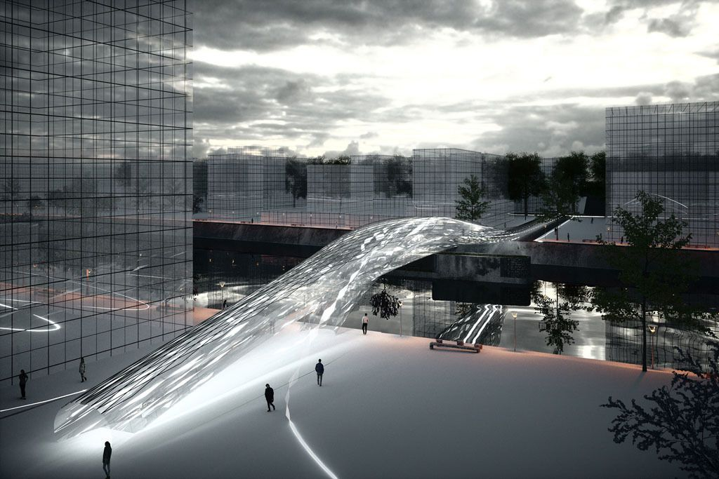 Future Projects Infrastructure - Brommy New Footbridge by SPANS Assosciates