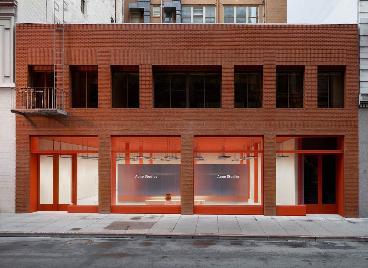acne studios store in geary street san francisco arc street journal inteligent elegant. Black Bedroom Furniture Sets. Home Design Ideas