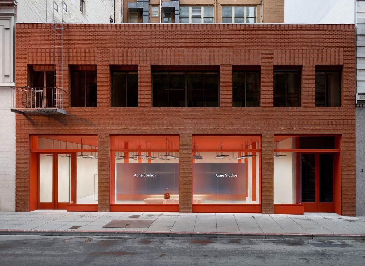ACNE STUDIOS STORE IN GEARY STREET SAN FRANCISCO
