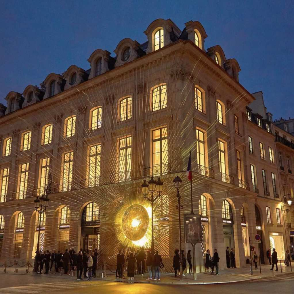 LOUIS VUITTON OPENS A NEW FLAGSHIP STORE IN PARIS, NEAR ...