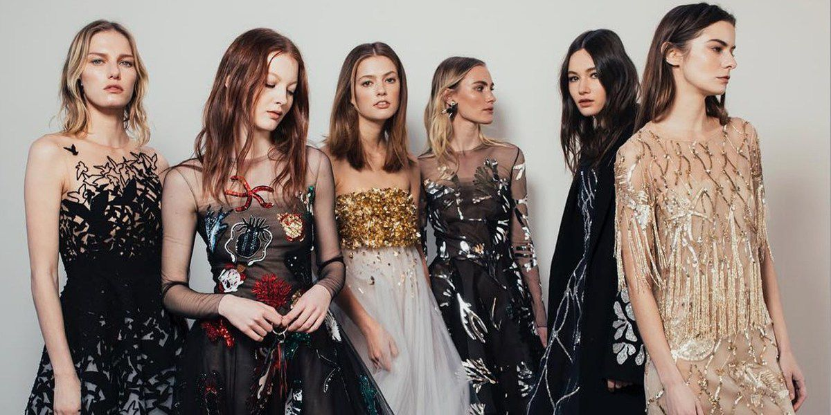 Oscar De La Renta Pre Fall 2018 Womenswear Collection Backstage