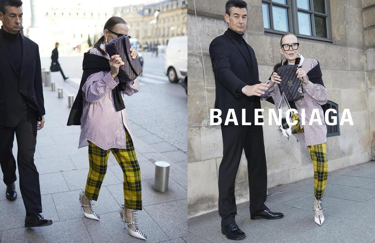 fessura paperback zolfo  THE NEW BALENCIAGA WOMEN SPRING SUMMER 2018 AD CAMPAIGN - Arc ...