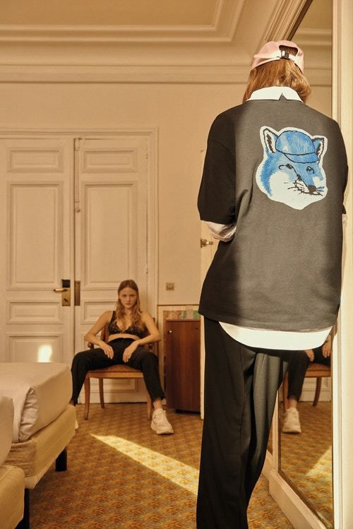 Maison kitsun and south korean label ader error capsule for Arielle d collection maison