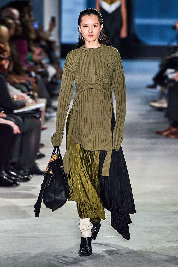 18b38103f50 PROENZA SCHOULER FALL WINTER 2019 READY TO WEAR COLLECTION AT NYFW ...