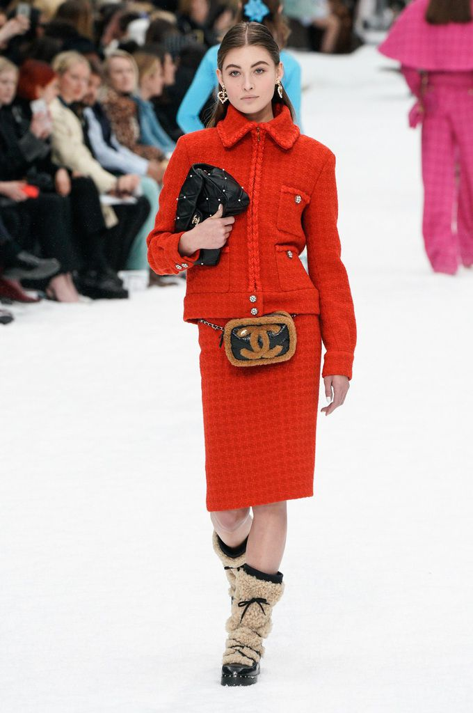 Karl Lagerfeld Latest Collection Chanel Autumn Winter 2019 2020 At