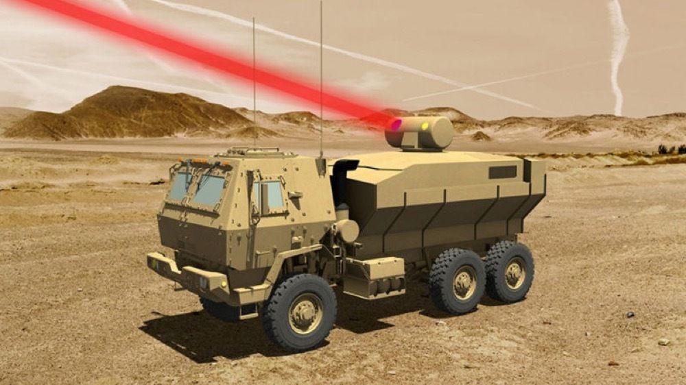 Une arme laser sur un camion par Lockheed Martin
