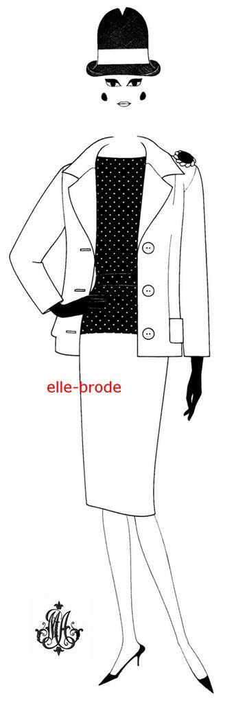 Madame et son tailleur :Femme de 1960