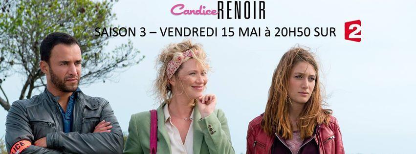 Candice Renoir nouvelle saison 3
