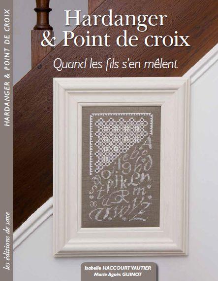 """Grand Jeu concours sortie livre """" Hardanger&point de croix / quand les fils s'en mêlent """""""