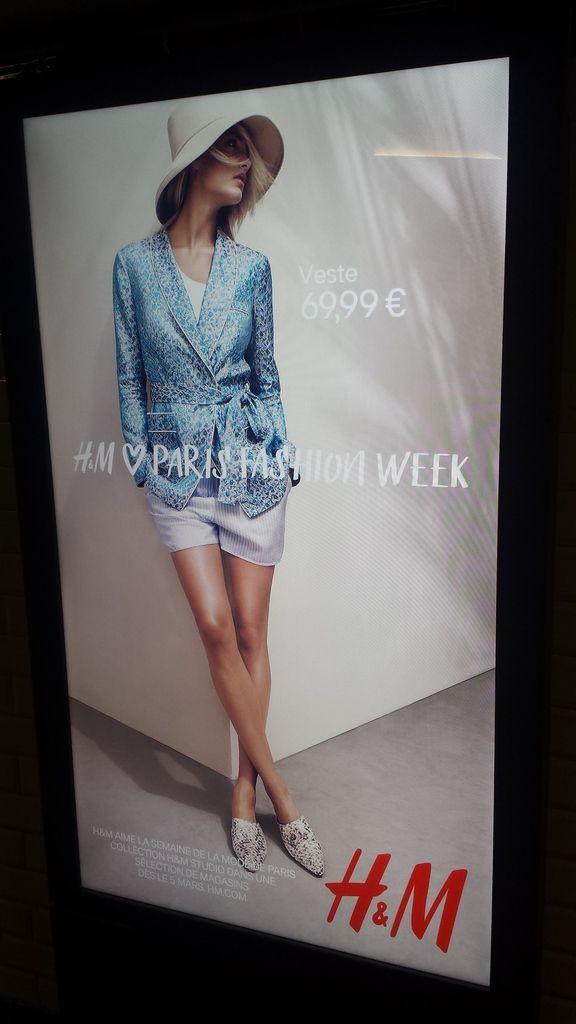 H&M travaille son image mode avec la Fashion week