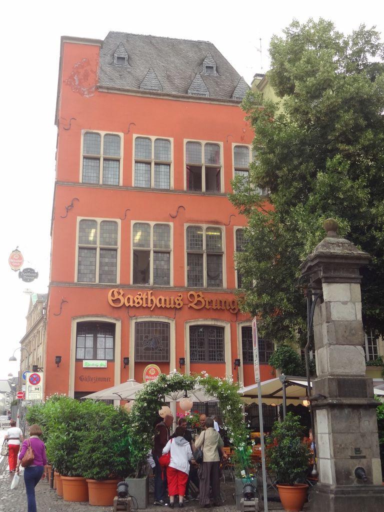 Les maisons typiques de Cologne