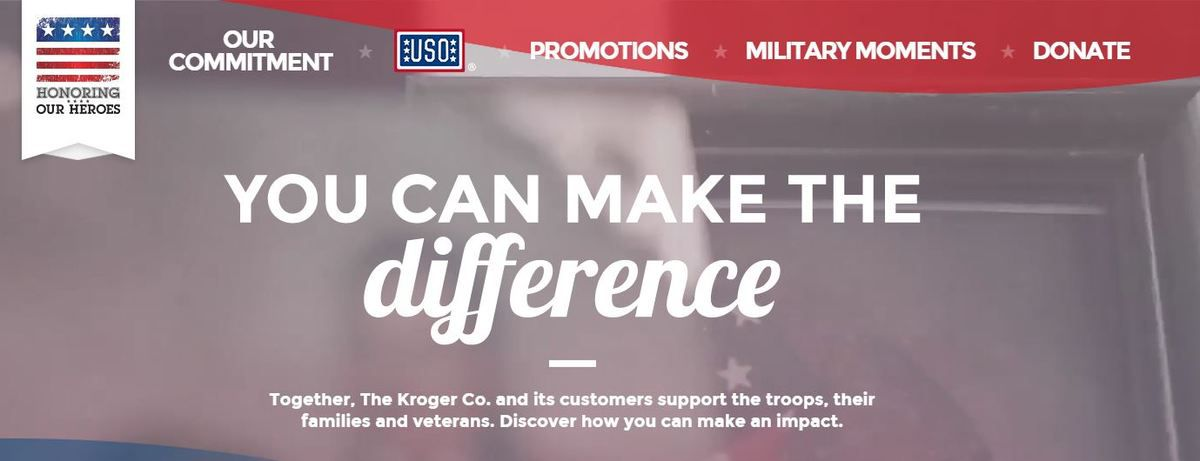 """Kroger avec """"You can make the difference"""" vise à engager ses clients"""