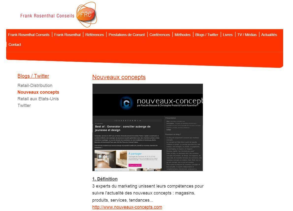 Mes 3 blogs