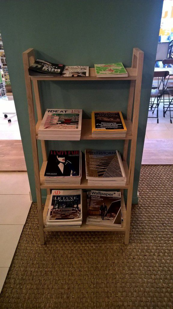 Les magazines mis à disposition