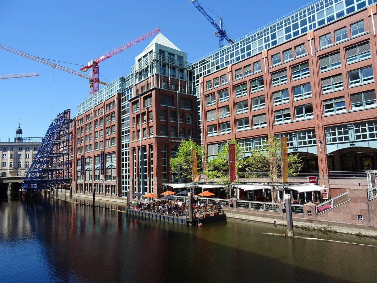Les nouveaux quartiers se créent en permanence à Hambourg