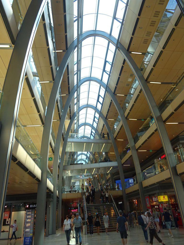 Une architecture futuriste et étonnante