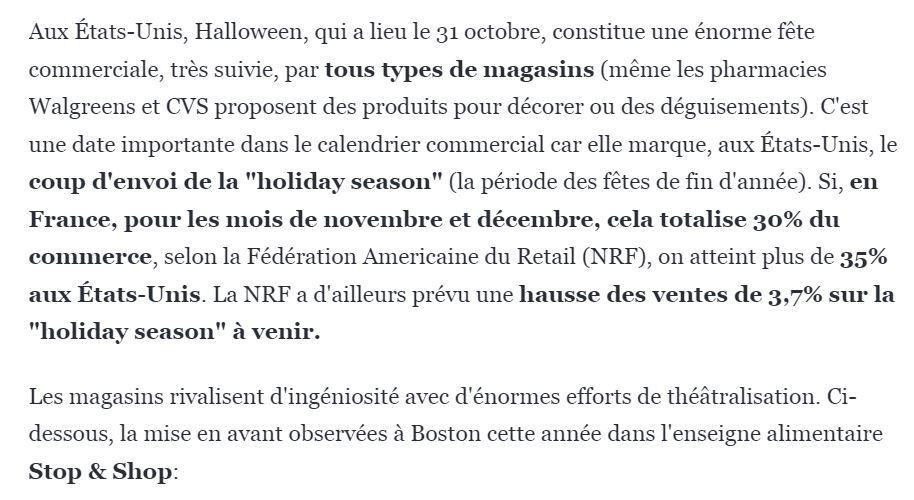Halloween et Black Friday : l'américanisation du commerce