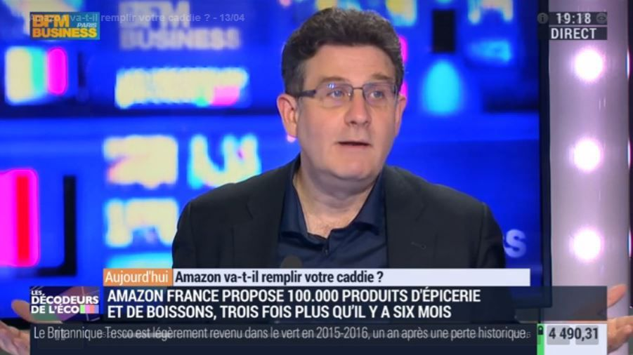 Amazon va-t-il remplir les caddies ? (sur BFM Business)