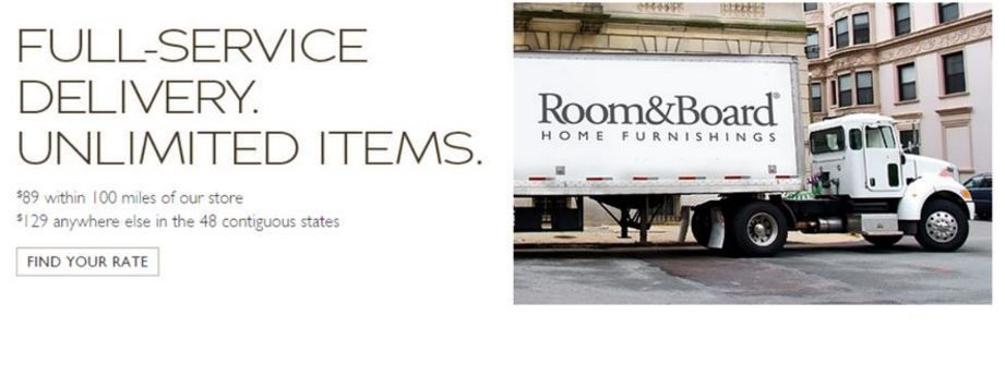 Booster le commerce : cas n°4 : Room & Board