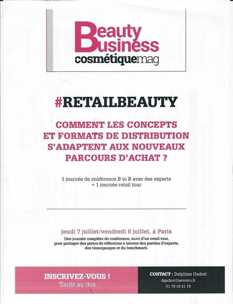 Beauty Business : conférence sur la personnalisation
