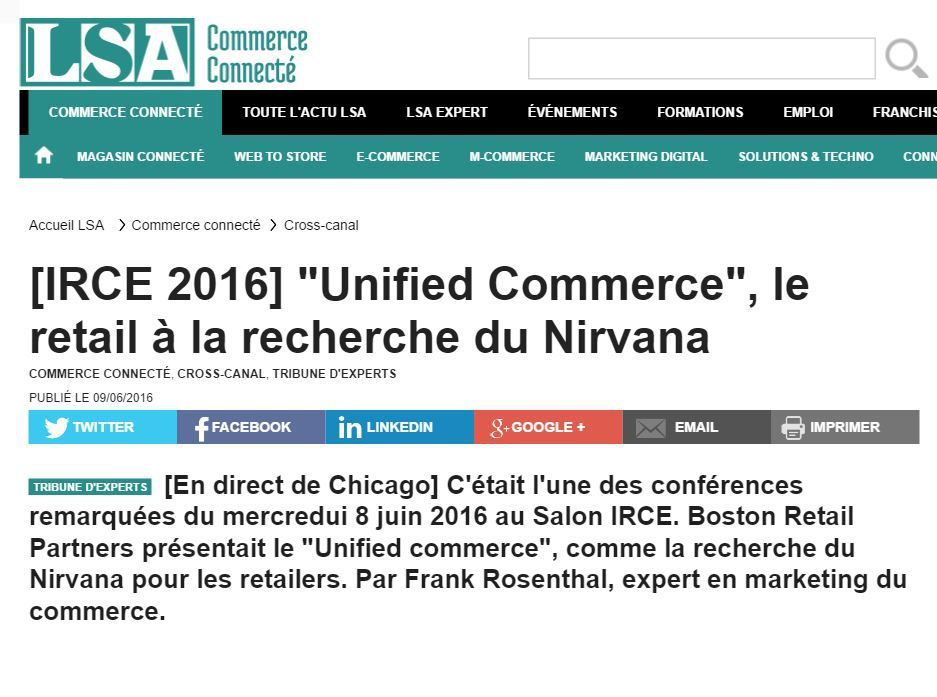 IRCE Chicago : le &quot&#x3B;Unified Commerce&quot&#x3B; au premier plan