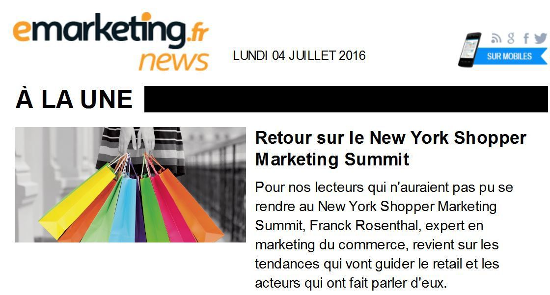 Que retenir du dernier New York Shopper Summit ?