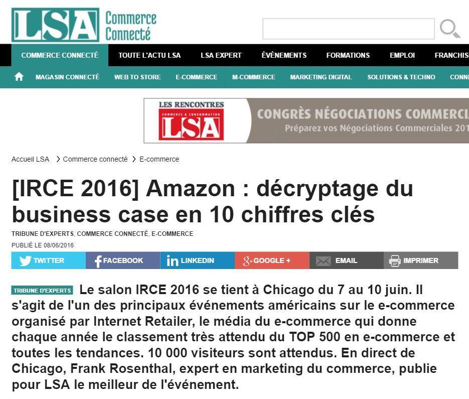 IRCE Chicago : 10 chiffres clés sur Amazon