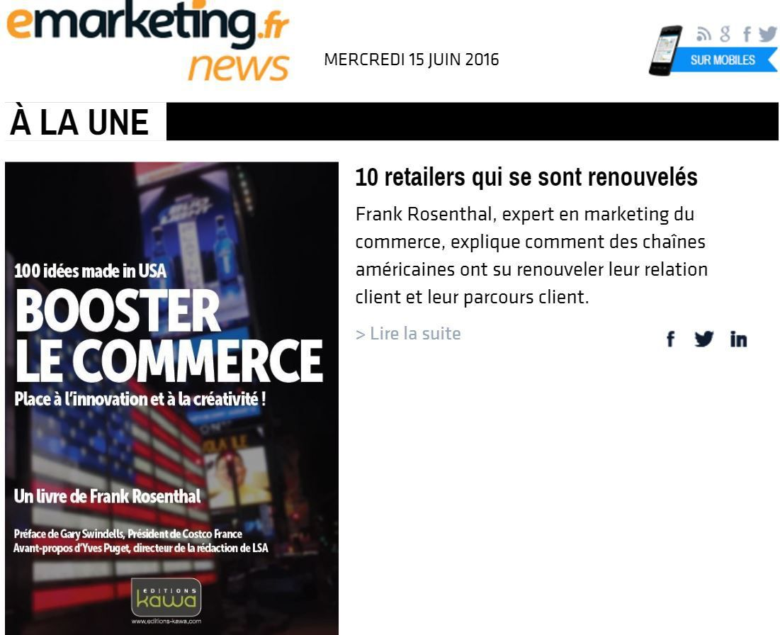 &quot&#x3B;Booster le commerce&quot&#x3B; sur e-marketing
